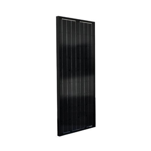 Instapark® NEW All Black 100W Mono-crystalline Solar Panel, 100 Watt