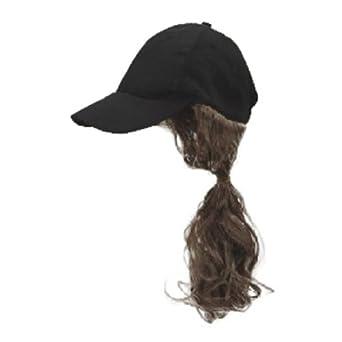 baseball cap with ponytail clothing