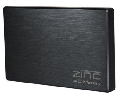 CnMemory Zinc externe Festplatte 1TB (6,4 cm (2,5 Zoll), USB 3.0) schwarz