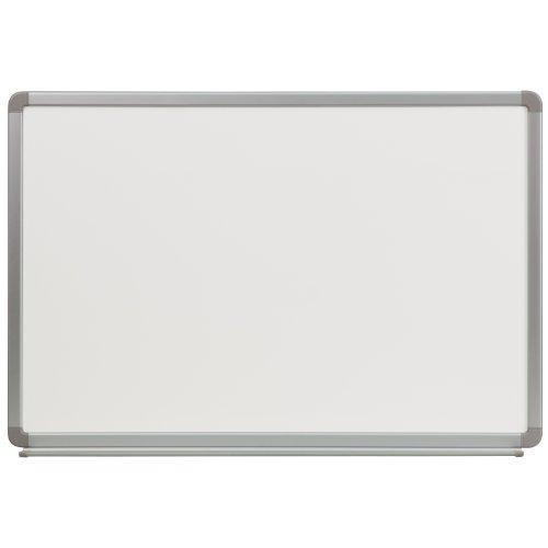 Flash Furniture 3-Feet W x 2-Feet H Porcelain Magnetic Marker Board (YU-60X90-POR-GG)