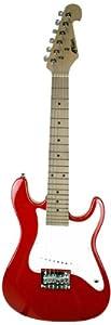 Tiger 1/2 Kids Electric Guitar - Red
