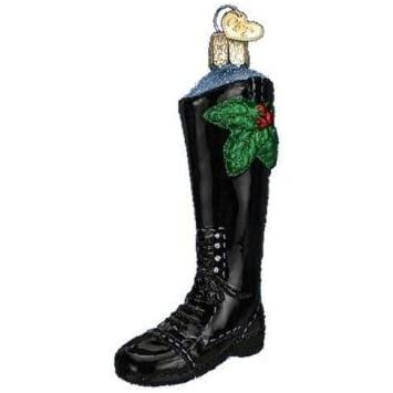 Old World Christmas English Riding Boots Ornament