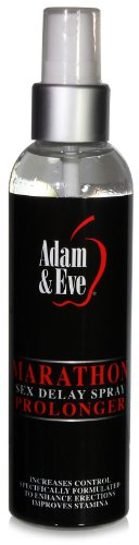 Adam & Eve Marathon Male Stamina Enhancer Enhancement Sex Delay Spray 4Oz Bottle