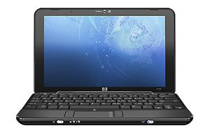 "HP Mini 1000 Notebook, Intel Atom Processor N270 1.60GHz, 8.9"" LED BrightView Widescreen Display, 512MB DDR2 RAM, 8GB Solid State Drive, HP Mini Webcam, Wireless-G Card, Windows XP Home"