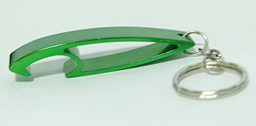Keychain Ring Key Chain Bottle Openers Beer Bottle Opener Bar Small Beverage (1 piece) (green) (Fiber Beverage compare prices)
