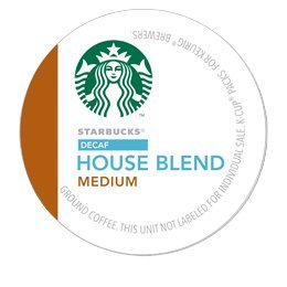 Starbucks Decaf House Blend Coffee K Cup 96 Count front-7689