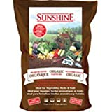 SunGro Horticulture SUGROM2.5 2-1/2-Cubic Feet Sungro Sunshine Organic Mix for Plants (Discontinued by Manufacturer)