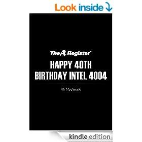 Happy 40th Birthday Intel 4004