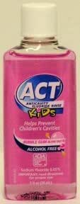 Act® Anticavity Flouride Rinse Kids (mouthwash) - 1 oz (pink)