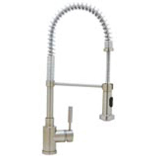 Blanco 441409 1.8 GPM Meridian Semi-Pro Faucet, Satin Nickel