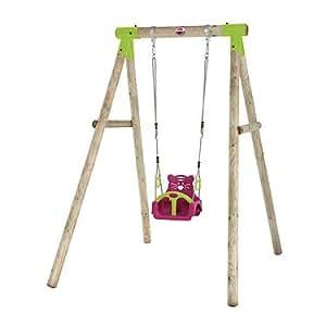 Plum Quoll Wooden Pole Swing Set