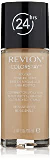 Revlon ColorStay Makeup CombinationOily Skin Sand Beige 1 Ounce