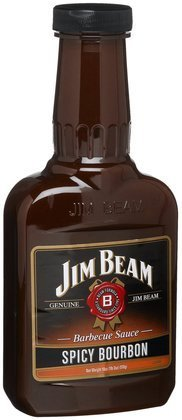 Jim Beam Spicy Bourbon BBQ Sauce - 510g