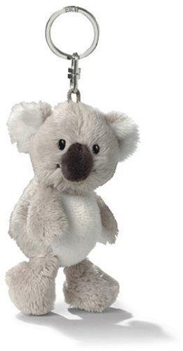 "NICI Koala Bean Bag Key Holder 4"" - 1"