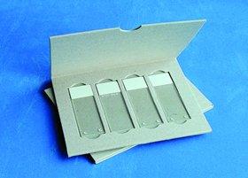 4 Microscope Slide Mailer, Solid Cardboard, 200/Cs