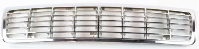 Evan-Fischer EVA17772010657 Grille Assembly Grill Plastic shell and insert Chrome (92 Chevy Caprice Grill compare prices)
