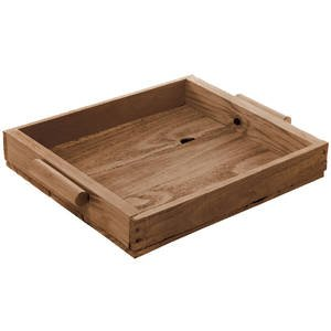 Early American Pine Tray, 12.25 x 9.5