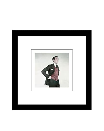 "Conde Nast Glamour Magazine ""Male Model In Suit"" Editorial Art"