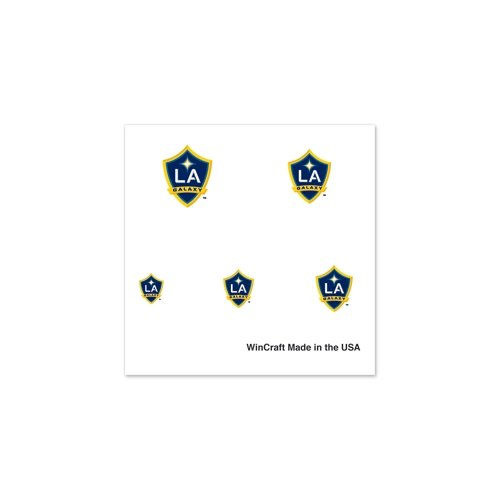 "Los Angeles Galaxy Official MLS 1"" Fingernail Tattoo Set"