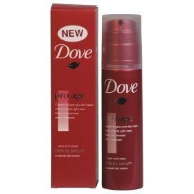 Dove Pro-Age Neck & Chest Beauty Serum To Smooth Skin Texture 3.3Oz/100Ml