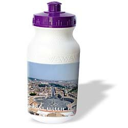 Vacation Spots - The Vatican Square - Water Bottles