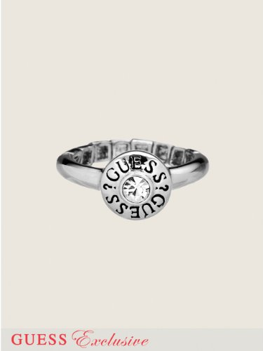 GUESS GUESS Disc Stretch Ring, SILVER
