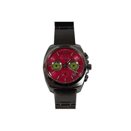 Paul Smith(ポール・スミス) ボーイズ 腕時計 ファイナルアイズ クロノグラフ レッド/イエロー【並行輸入品】