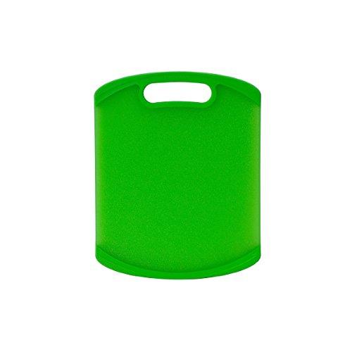 Farberware Non-Slip Poly Cutting Board, 8-Inch by 10-Inch, Green (Farberware Poly Cutting Board compare prices)