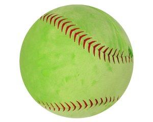 Girl's Softball Sports Pillow