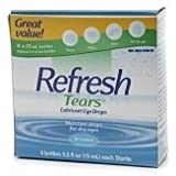 Refresh Tears Lubricant Eye Drops - 4x15mL bottles [Health and Beauty]