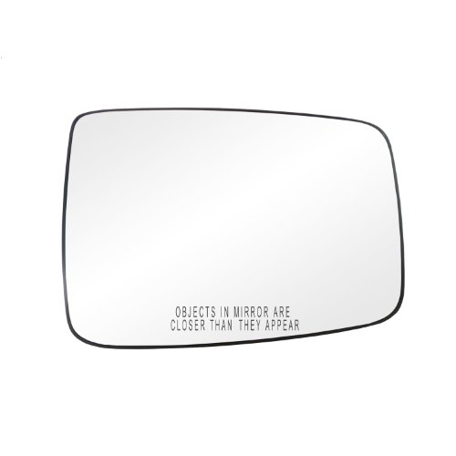 Fit System 80244 Dodge Ram 1500/2500/3500 Right Side Manual/Power Replacement Mirror Glass With Backing Plate