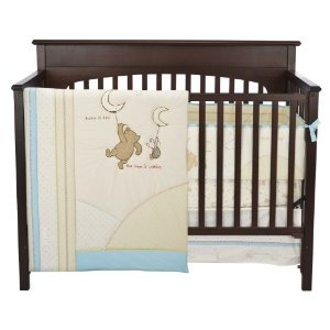 classic pooh 3 pc crib bedding set neutral baby