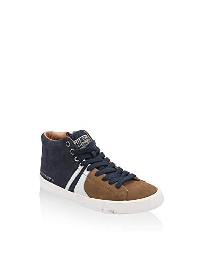 Pepe Jeans London Sneaker Alta Marton Half [Tabacco]