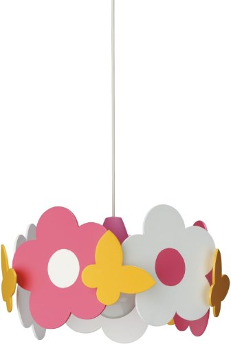 Philips 40178/55/48 Kidsplace Floral Pendant Light, Multi-Colored front-54838