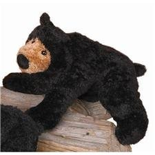 "Douglas 8"" Long Kohair Smokey Black Bear - 1"