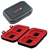 Sandisk Flash Memory Card Case / Holder (SDAC-13) for SD, CF, MS, MMC, XD,  ....