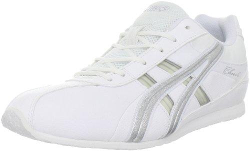 Asics Women'S Gel-Cheer 6 Cheerleading Shoe,White/Silver,8.5 M Us