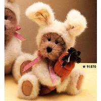 [Boyds Bears AGATHA SNOOPSTEIN in Bunny Rabbit Costume 91870 Retired] (Bunny Costume For 12 Year Old)