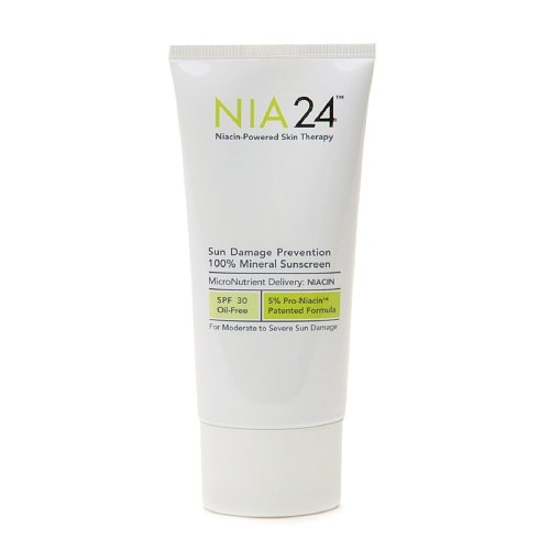 Nia24 Sun Damage Prevention 100% Mineral Sunscreen 2.5 Fl Oz (75 Ml)