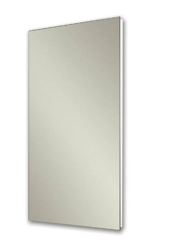 Broan NuTone 1035P24WHG Cove Single-Door Recessed Mount Frameless Medicine Cabinet, 14 by 24-Inch (14 X 24 Medicine Cabinet compare prices)