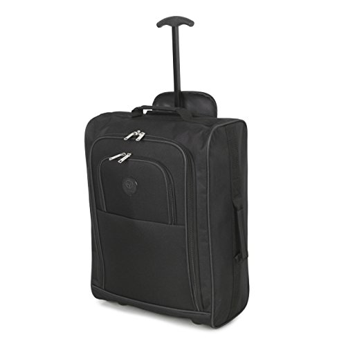 cabin-approved-multi-use-carry-on-flight-bags-luggage-trolley-bag-backpacks-black