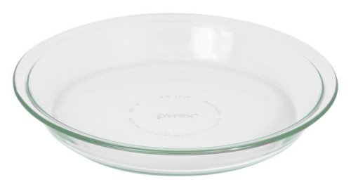 "Pyrex Glass Bakeware Pie Plate 9"" x 1.2"""