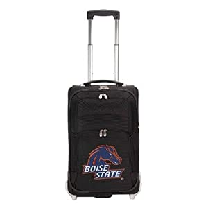 NCAA Boise State Broncos Denco 21-Inch Carry On Luggage, Black