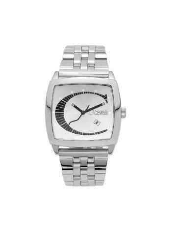 Just Cavalli - Screen - Analogue Quartz - Unisex Watch - Steel Strap