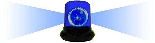 Blue Spinning Police Beacon Light front-1041491