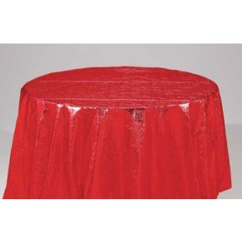 Red Opalessence Octy-Round Tablecover