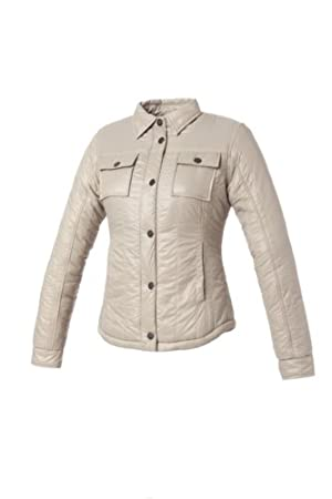Tucano urbano 8915WF023GB4 tRUDY-respirant, windproof and water-repellent matelassée rembourré women's short veste-beige-taille m