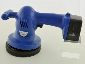 Polishing machine with 6-inch polishing pad