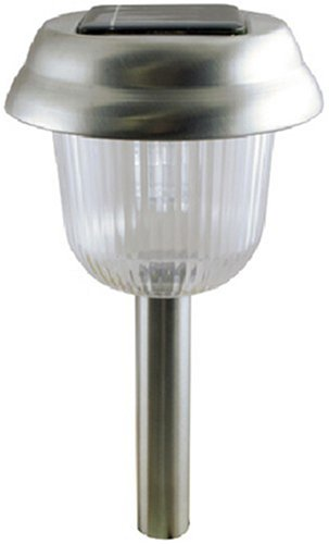 Moonrays 93004 Dover 4 Pack of Pewter Solar Fixtures