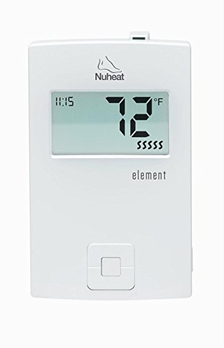 Nuheat Element Non Programmable 120/240V Radiant Floor Heating Thermostat GFCI and LCD Display (Radiant Floor Heating Controls compare prices)